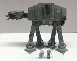 Star Wars: Action Fleet- AT-AT w/ Imperial Driver