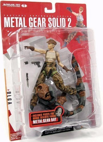 McFarlane Toys: Metal Gear Solid 2 - Sons of Liberty - Olga