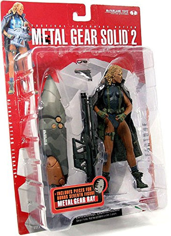 McFarlane Toys: Metal Gear Solid 2 - Sons of Liberty - Fortune (Missing BAF and a handgun)