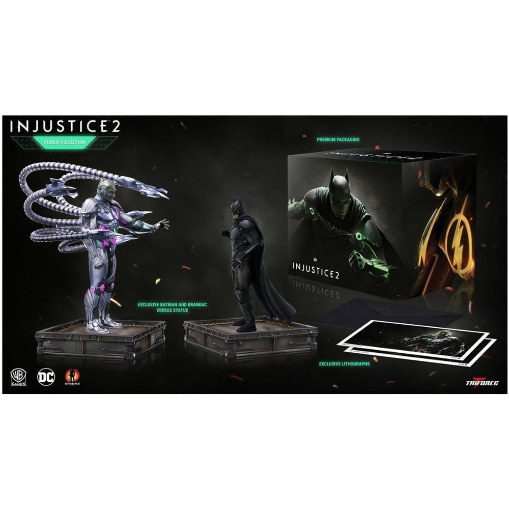 DC Collectibles: Injustice 2 The Versus Collection- Batman v Brainiac - TCB Toys & Comics