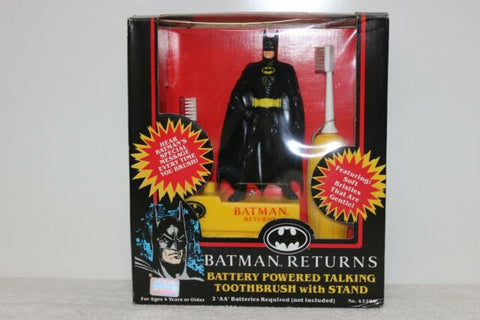 Batman Returns- Battery Powered Talking Toothbrush w/ Stand