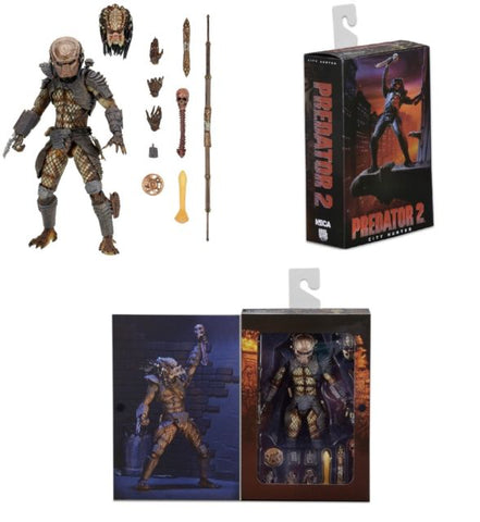 Predator 2: City Hunter Ultimate Action Figure