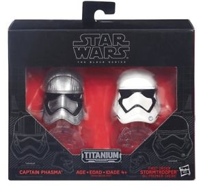 Star Wars: The Black Series - Titanium Series - Captain Phasma & First Order Stormtrooper
