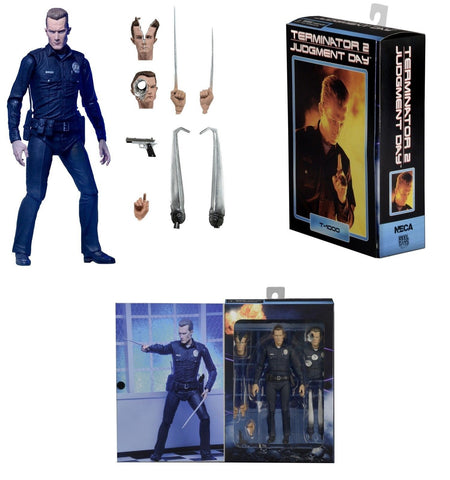 Terminator 2 – 7″ Scale Action Figure – Ultimate T-1000