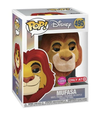 Pop! Disney: Lion King- Mufasa (Flocked) (Target Excl)