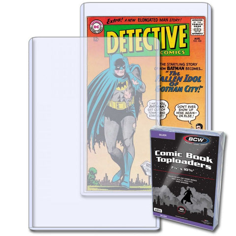 Silver Comic Book Toploaders (10 pack)