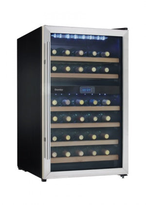 Danby DWC113BLSDB 38 Bottle Wine Cooler -Stainless Steel ( Used )