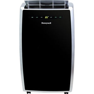 Honeywell MN10CES 10,000-BTU Portable Air Conditioner with Full Function Remote Control, Black/Silver ( used -very Good )