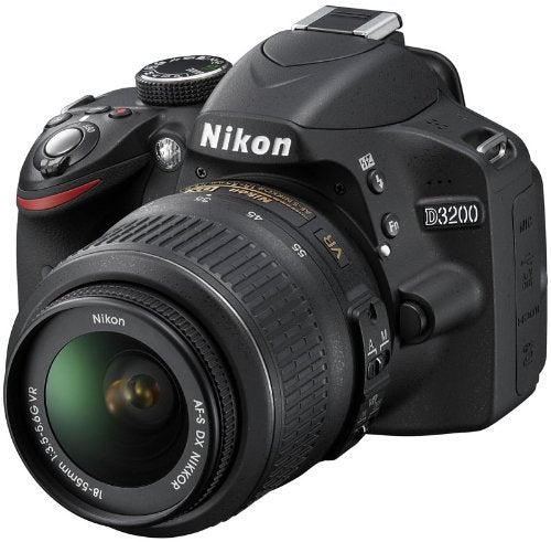 Nikon D3200 DSLR  Kit with 18-55mm VR Black ( Open Box )