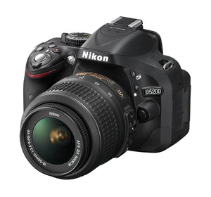 Nikon D5200 24.1 MP CMOS Digital SLR with 18-55mm Zoom Lens - Black