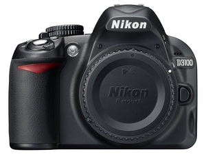 Nikon D3100 DX-Series 14.2MP Digital SLR Camera (Body Only)(Black) (Refurbished )
