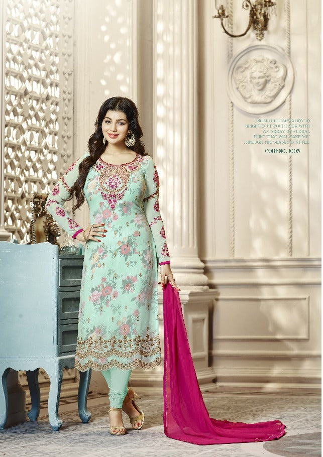 Lavina Nx 1 Top georgette Emboidery