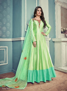 Beautiful Light Green  Designer  Suit