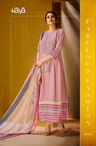 Gorgeous Haya !!! Baby pink with printed Dupatta