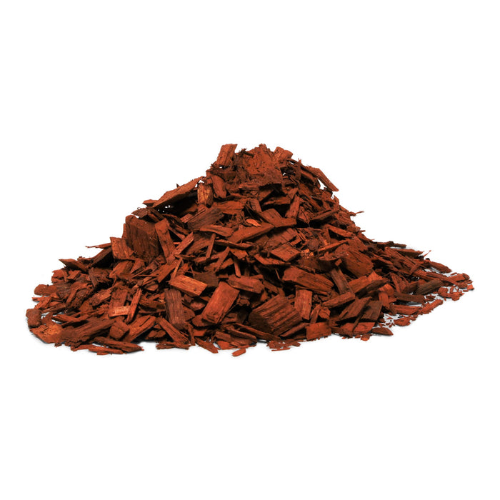 Red Woodchips in 1m3 Bulka Bag
