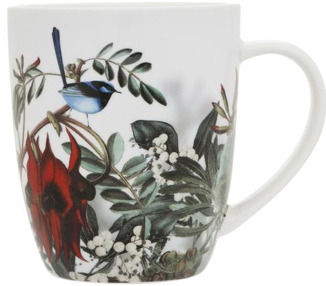 Desert Pea Mug - Australian WIldflowers Collection