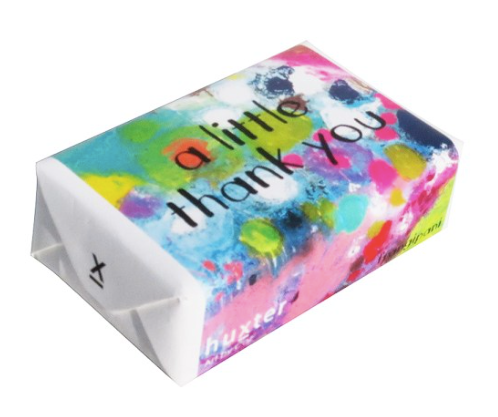 Art by CAZ- Coral Waters- 'A little thank you' - Huxter Soaps