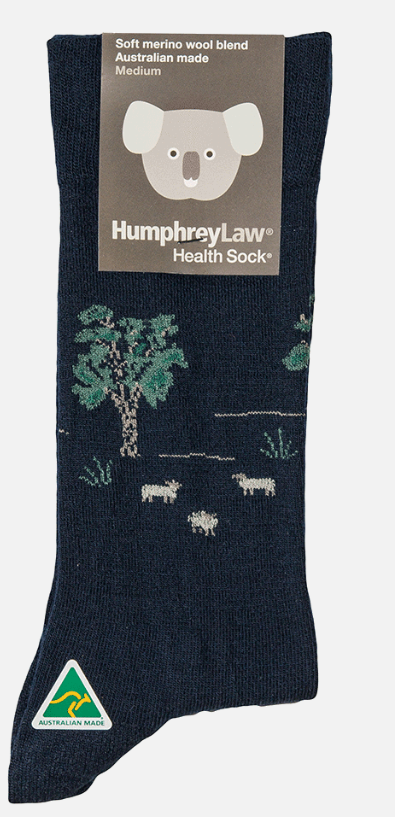 60% Fine Merino Wool Health Sock