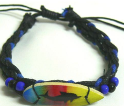 Bracelet Cord with Surfboard