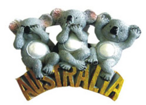 Laughing Koala Magnet
