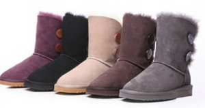 Twin Button UGG BOOT