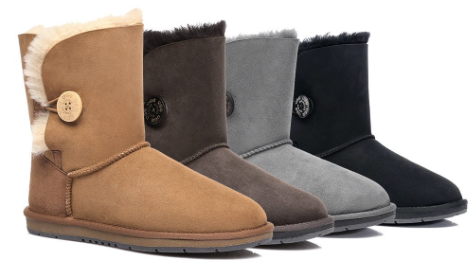 Single Button UGG BOOT