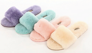 Open Toe Slippers - UGG