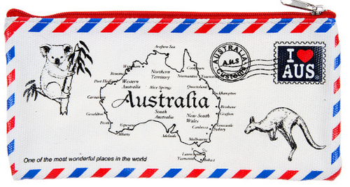 Australian Envelope Pencil Case
