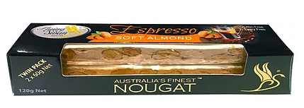 Flying Swan -  Soft Almond Espresso 120g TWIN PACK