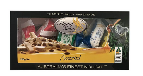 Flying Swan - Nougat GIFT BOX - 200g (7 Flavours)