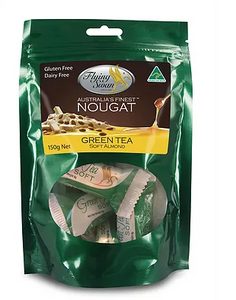 Flying Swan - Soft Almond Green Tea - 200g Pack