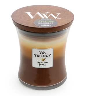 WoodWick Cafe Sweets Trilogy Medium