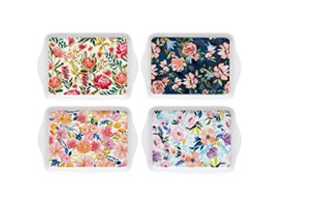 Assorted Scatter  Trays - Seasons in Bloom Collection