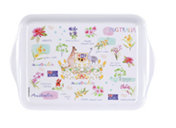Australia Melamine Scatter Tray - Australia Down Under Collection