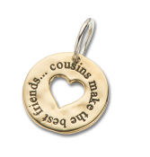 Cousin's Best Friends Charm - 4106