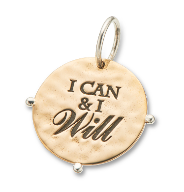 I Can and I Will Charm - 4144