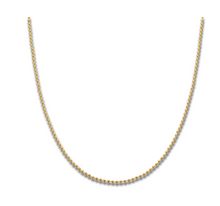Yellow Gold Plate Ball Chain 90cm - 4092
