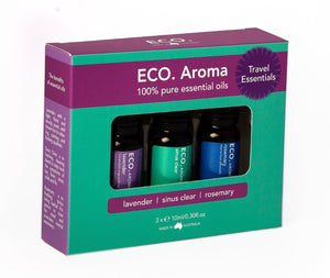 ECO. Travel Essentials Aroma Trio