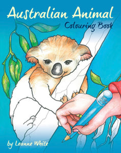 Softcover Books - Aussie Animal Colouring Book