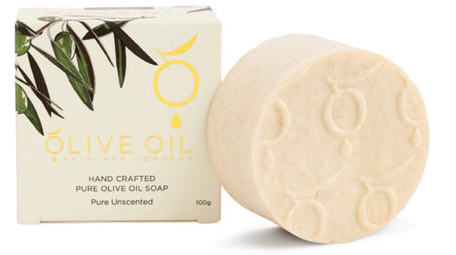 UNSCENTED PURE EXTRA VIRGIN OLIVE OIL SOAP