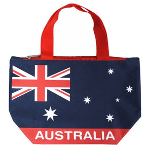 Australian Flag  - Large Bag With Zip