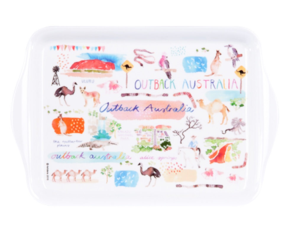 Australia Down Under Kitchen Scatter Tray