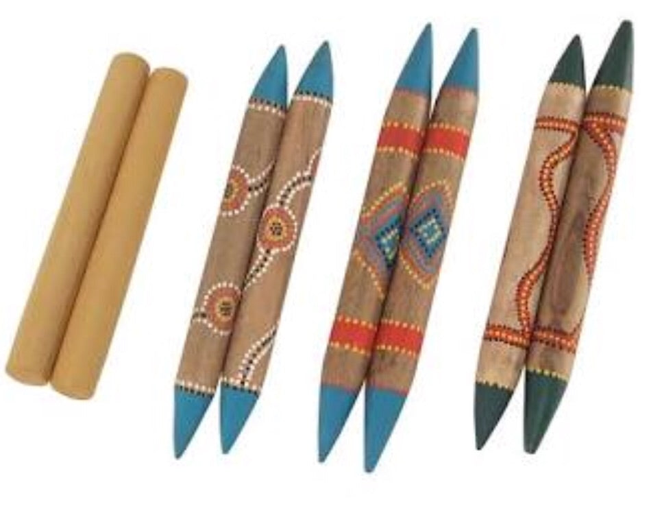 Aboriginal Clap Sticks
