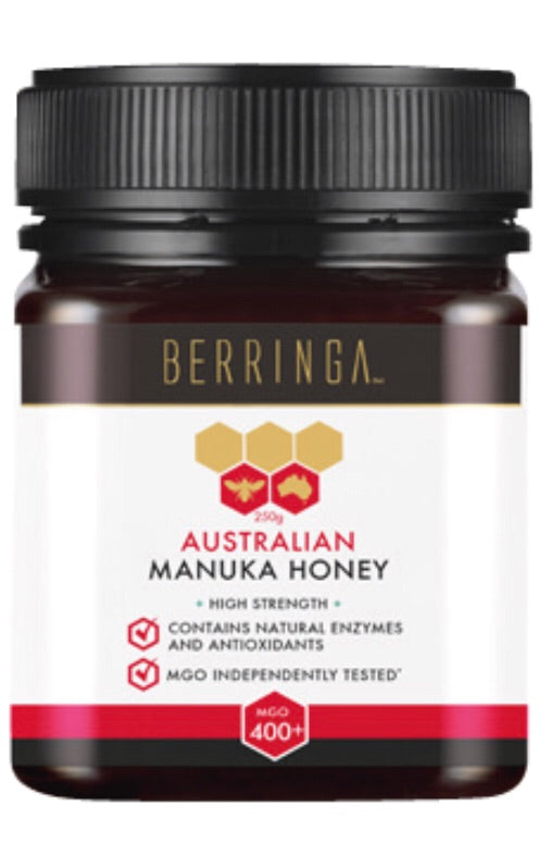 Berringa Manuka MGO400+  A high strength Manuka honey