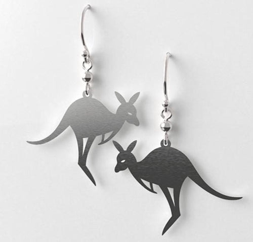 Kangaroo Body Earrings - Allegria Designs