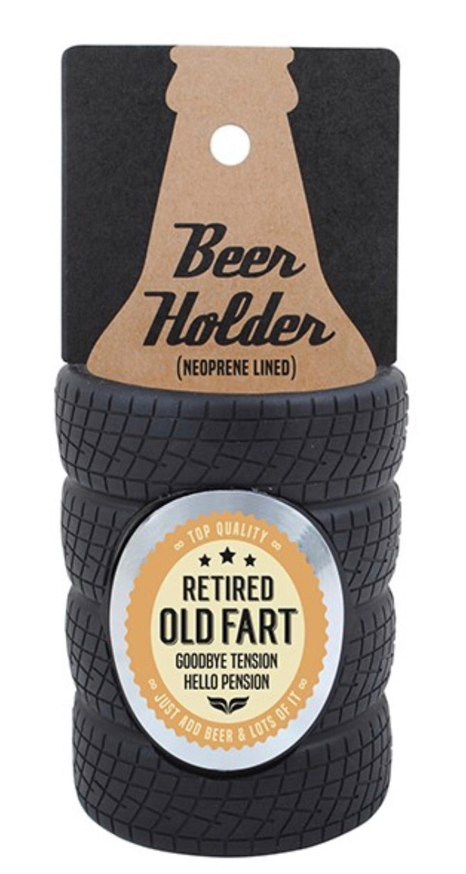 Retired Old Fart - Stubby Holder