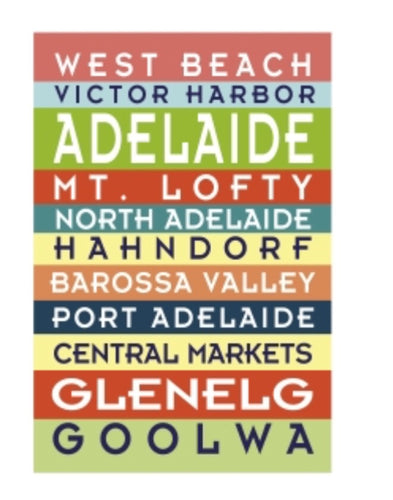 GALLERY MAGNET ADELAIDE place names
