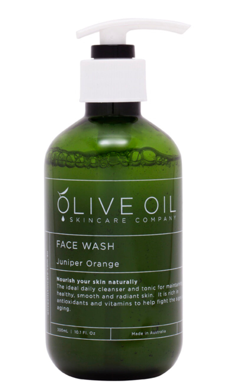 FACE WASH JUNIPER ORANGE - 300ML