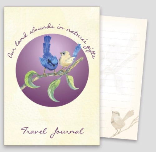 A6 Travel Journal - Splendid Fairy Wren