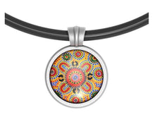 Pendant Round People Telling Stories - Allegria Designs
